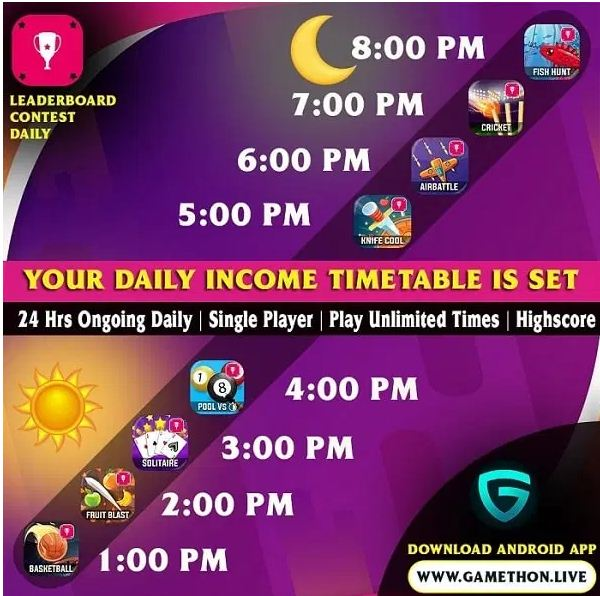 Gamethon paytm game app