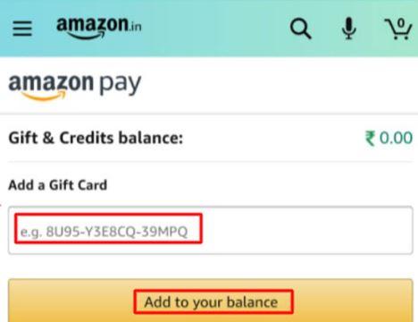 Amazon redeem codes