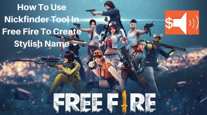 how to use Nickfinder Tool in Free Fire